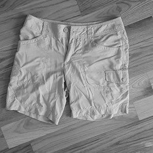 Columbia Omni Wick Women's Tan Shorts size 8